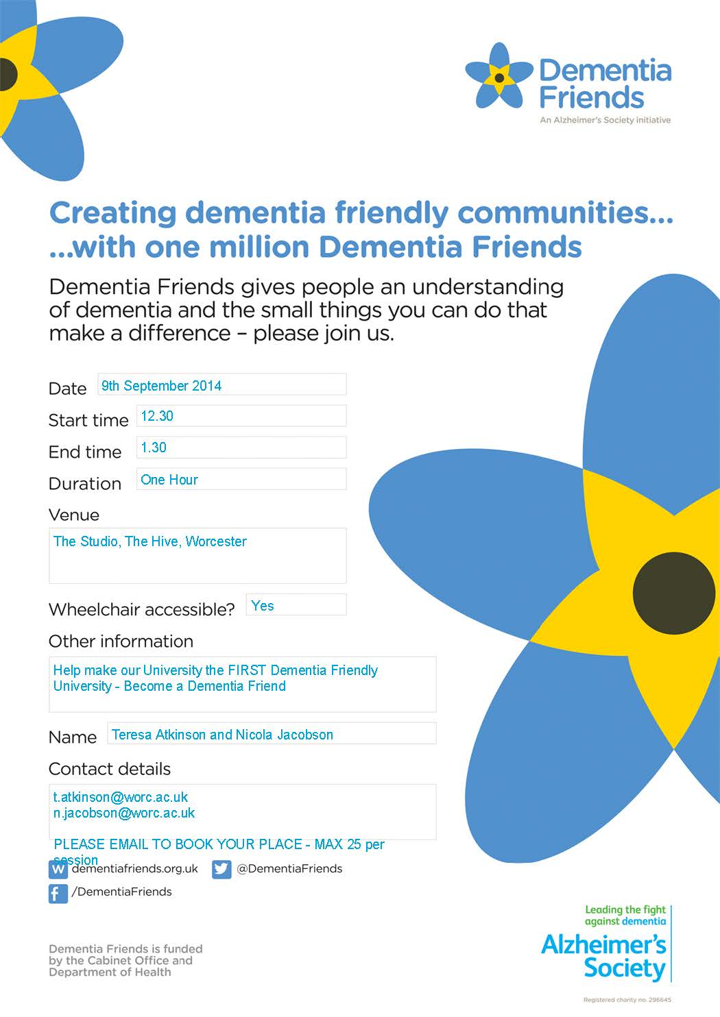 association for dementia studies
