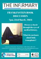 FRANKENSTEIN BOOK DISCUSSION