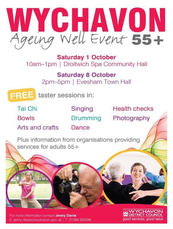 Ageing Well Event Poster