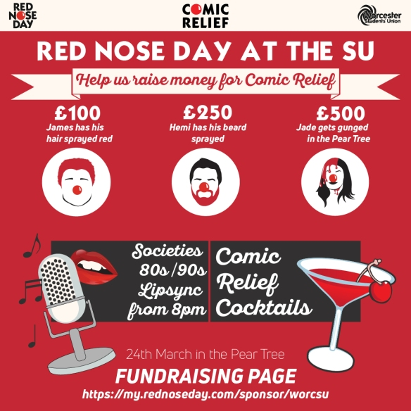 Red nose day at the SU