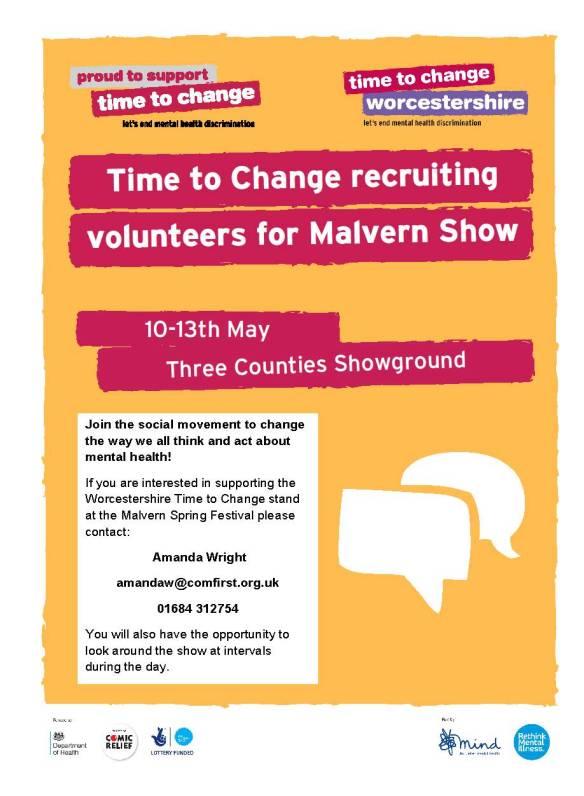 Malvern Show TTC volunteers