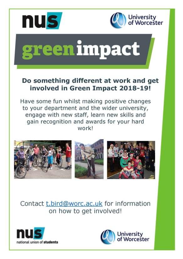 GI Team recruitment poster - Worcesterified