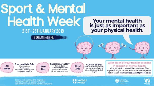sport and mental health week