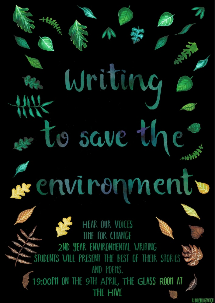 Writing To Save The Environment University Of Worcester Weekly