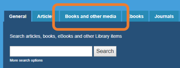 books and other media