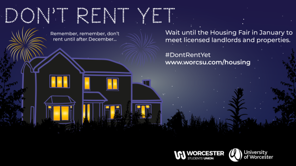 Don't rent yet