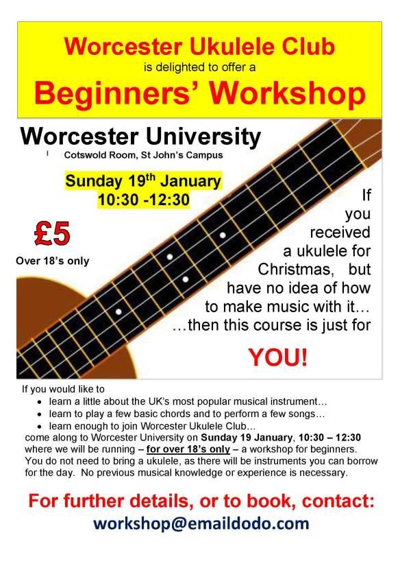 WUC Workshop Jan 2020